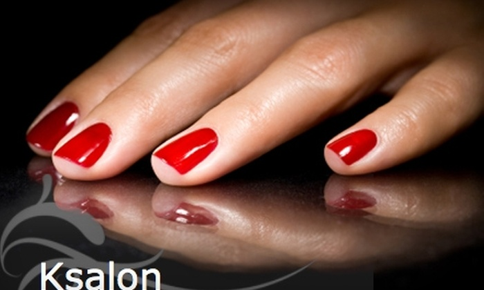 Ksalon - Mount Pleasant: $20 for a Full Manicure and Pedicure at Ksalon ($53 Value)