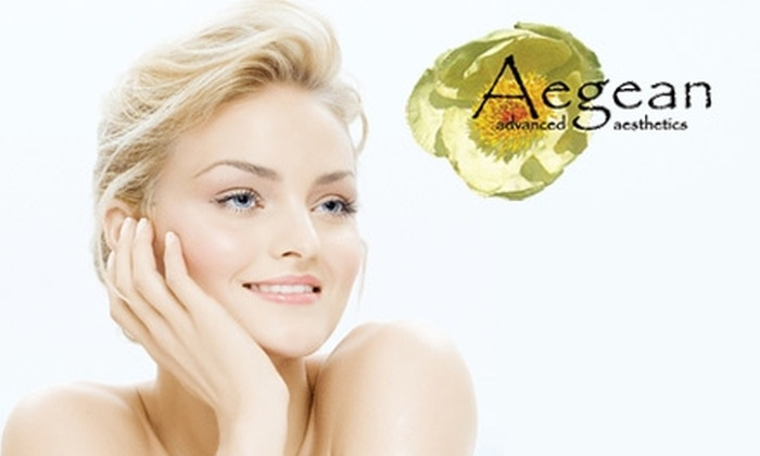 Aegean Advanced Aesthetics - Bullard: $55 for a Rejuvenating Four-Layer Vitamin-C Treatment from Aegean Advanced Aesthetics