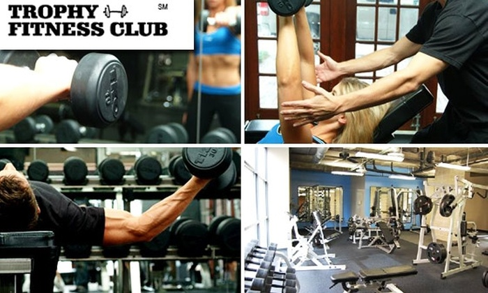 Trophy Fitness Club - Dallas: One-Month Membership, Personal Training, and Class Access at Four Trophy Fitness Clubs