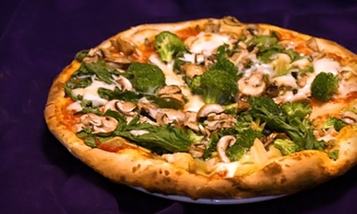 Egyptian Pizza - Chinquapin Park - Belvedere: $10 for $20 Worth of Eclectic Pizza at Egyptian Pizza