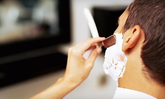 Hero Barbershop - Newtown: $17 for Men's Haircut, Shave, and Massage at Hero Barbershop in Newtown ($35 Value)