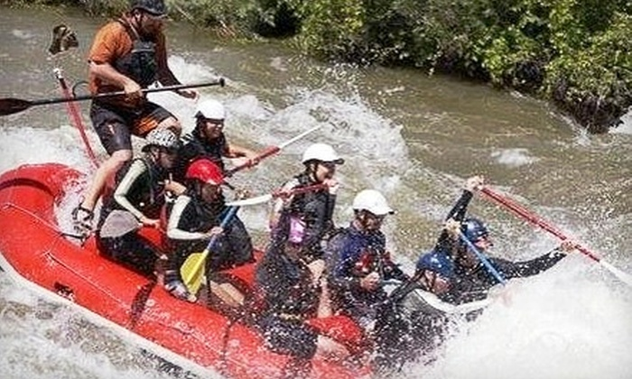 Raft Masters - Cañon City: $55 for a Half-Day Rafting Trip from Raft Masters ($109.17 Value)