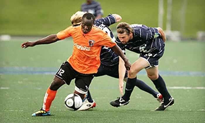 Charlotte Eagles - Lansdowne: $25 for an Eight-Game Flex Pass Toward Charlotte Eagles Soccer Games ($55 Value)