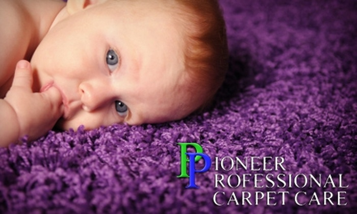 Pioneer Professional Carpet Care - Fox Cities: $50 for $100 Worth of Carpet Cleaning from Pioneer Professional Carpet Care