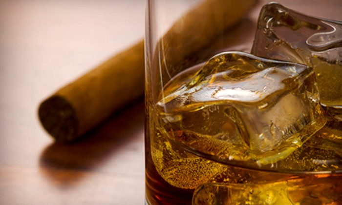Smoke Lounge - Federal Hill,Downtown: Cigars, Drinks, and Italian Fare at Smoke Lounge (Up to 56% Off). Two Options Available.