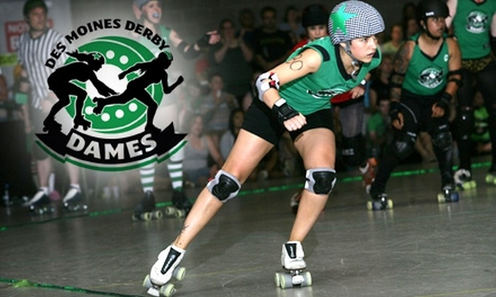 Des Moines Derby Dames - Accent: $12 for Two Tickets to the Des Moines Derby Dames Event on February 19 at the Iowa State Fairgrounds
