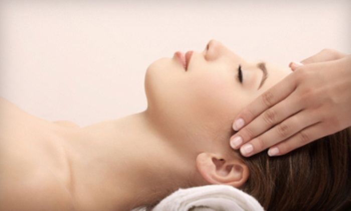Lux Spa & Fitness - Center City East: $50 for an Aveda Custom Facial and Eye-Zone Treatment at Lux Spa and Fitness ($100 Value)