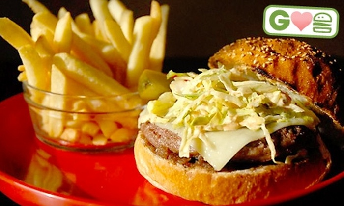 Classic American Restaurant - West Babylon: $12 for Two Burgers with Fries at Classic American Restaurant in West Babylon (Up to $23.90 Value)