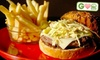 Classic American Resturant - West Babylon: $12 for Two Burgers with Fries at Classic American Restaurant in West Babylon (Up to $23.90 Value)