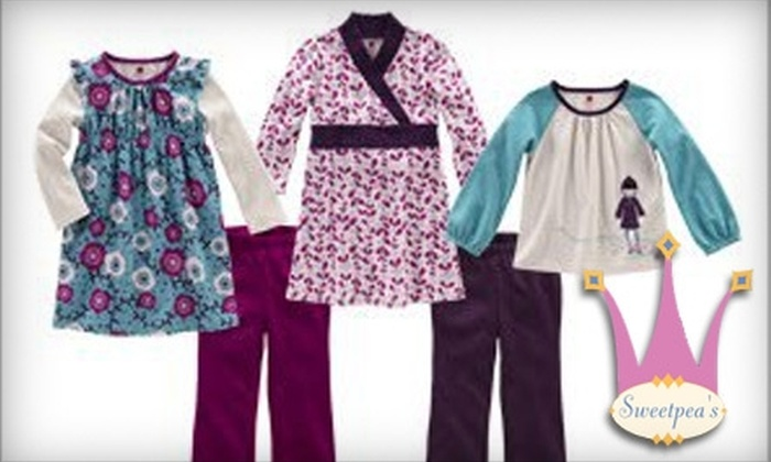 Sweetpea's - De Pere: $15 for $30 Worth of Children's Clothing and Accessories at Sweetpea's in De Pere