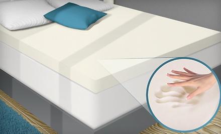 Twin-Size PuraSleep Memory-Foam Mattress Topper (a $220 value) - Memory-Foam Mattress Topper in