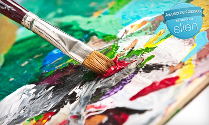 Colors & Bottles - Multiple Locations: $18 for a BYOB Painting Class from Colors and Bottles ($36 Value)