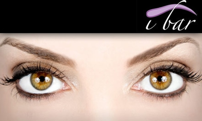 I Bar - Downtown Walnut Creek: $8 for One Eyebrow Threading at I Bar ($16 Value)
