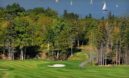 The Lakes Golf Club: Peak Season Option (prior to 9/19) - The Lakes Golf Club in Ben Eoin