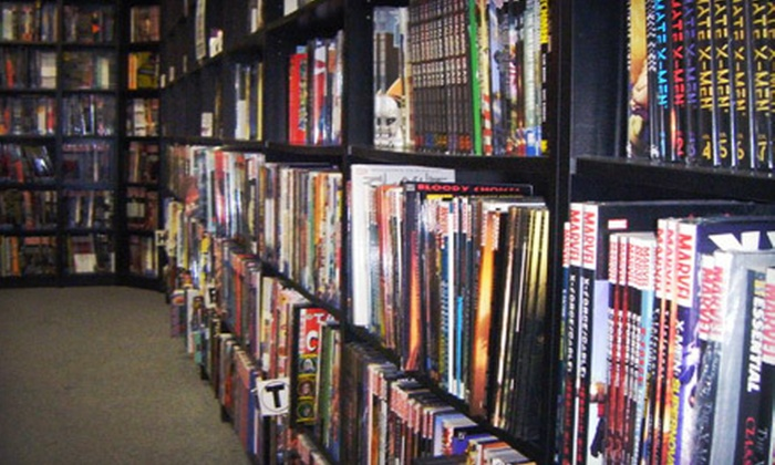 Geoffrey's Comics - Geoffrey's Comics: $10 for $20 Worth of Comic Books at Geoffrey's Comics in Gardena