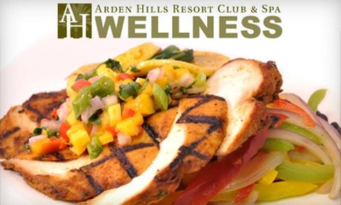 Arden Hills Resort Club & Spa - Arden - Arcade: $61 for Five Days of Prepared Meals from Arden Hills Resort Club & Spa