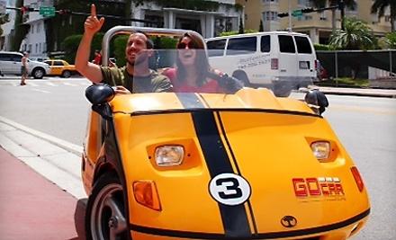 GoCar Tours - Go Car Tours in Miami Beach