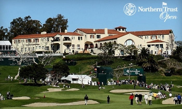 PGA TOUR - West LA: $45 for Two Weekend Tickets to the PGA TOUR's Northern Trust Open in Pacific Palisades ($90 Value)