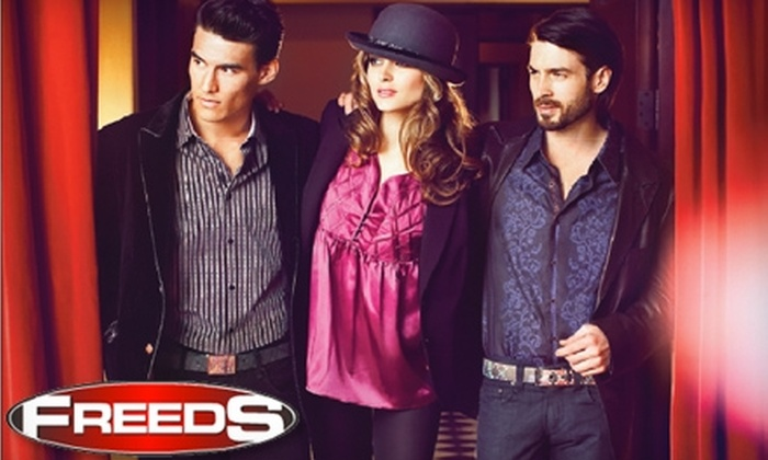 Freeds of Windsor - Walkerville: $25 for $50 Worth of Apparel and More at Freeds