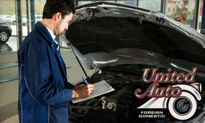 United Auto Foreign & Domestic - Multiple Locations: $10 for a New York State Inspection and a 21-Point Maintenance Check from United Auto Foreign & Domestic