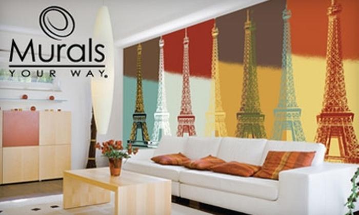 Murals Your Way: $65 for $150 Toward Murals at Murals Your Way
