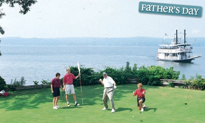 Chautauqua Point Golf Course - Chautauqua: $28 for 18 Holes of Golf for Two Including Cart Rental at Chautauqua Point Golf Course in Dewittville ($60 Value)