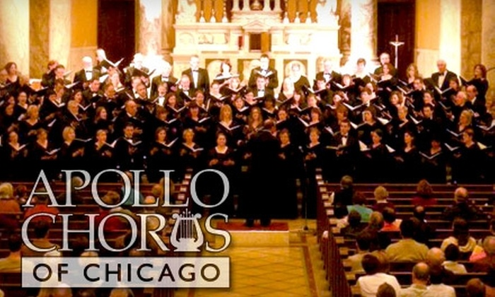 "Apollo Chorus of Chicago - Multiple Locations: One Ticket to the Apollo Chorus of Chicago's Performance of Handel's ""Messiah"". Two Dates Available."