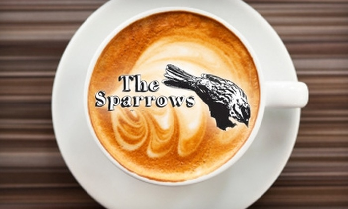 The Sparrows Coffee Tea & Newsstand - Baxter: $3 for $6 Worth of Coffee, Tea, Smoothies, and Pastries at The Sparrows Coffee Tea & Newsstand