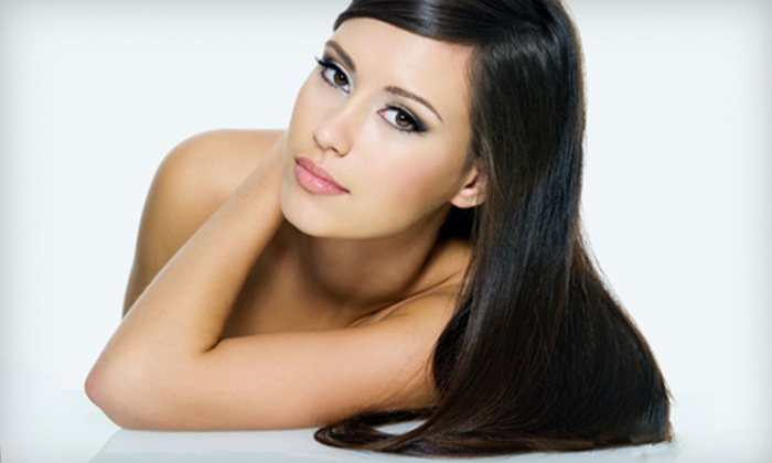 Extension King Hair Salon - Flamingo / Lummus: $35 for MoroccanOil Blowout Package at Extension King Hair Salon in Miami Beach (Up to $135 Value)