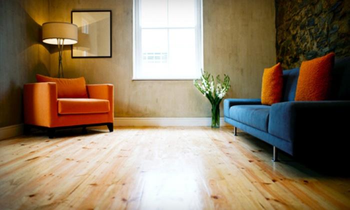 Wentico & Company - Hearth Stone: Hardwood Floor Rejuvenation from Wentico & Company (Up to $600 Value)