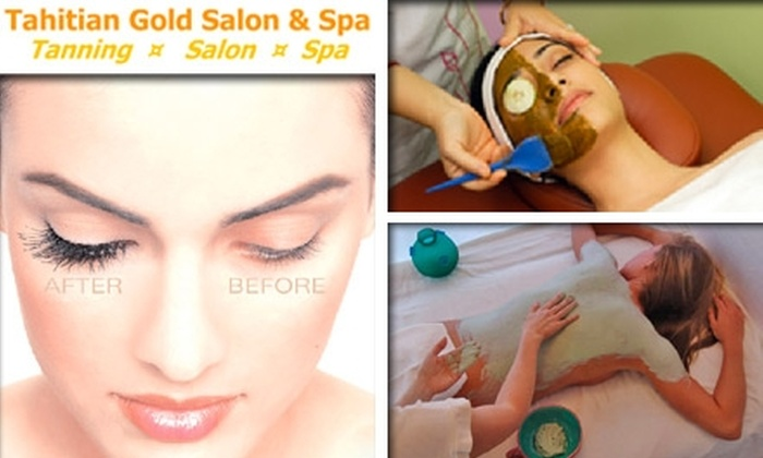 Tahitian Gold Salon & Spa - Temple Terrace: $50 for $100 Worth of Salon and Spa Services at Tahitian Gold