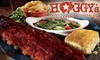 53% Off Barbecue at Hoggy's
