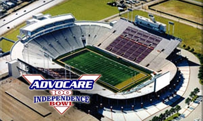 Independence Bowl - Multiple Locations: $18 for One Ticket to AdvoCare V100 Independence Bowl Game ($37 Value)