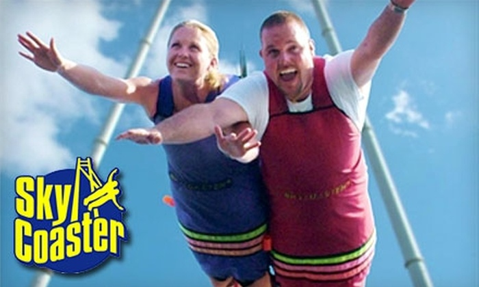 Fun Spot USA - Old Town: $19 for a SkyCoaster Flight at Fun Spot USA (Up to $40 Value)