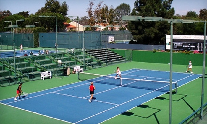 Newport Beach Tennis Club - Newport Beach: $35 for a Two-Month Individual or Family Membership to Newport Beach Tennis Club