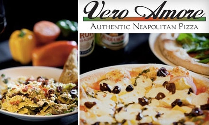 Vero Amore - Multiple Locations: $10 for $20 Worth of Authentic Neapolitan Pizza, Drinks, and More at Vero Amore