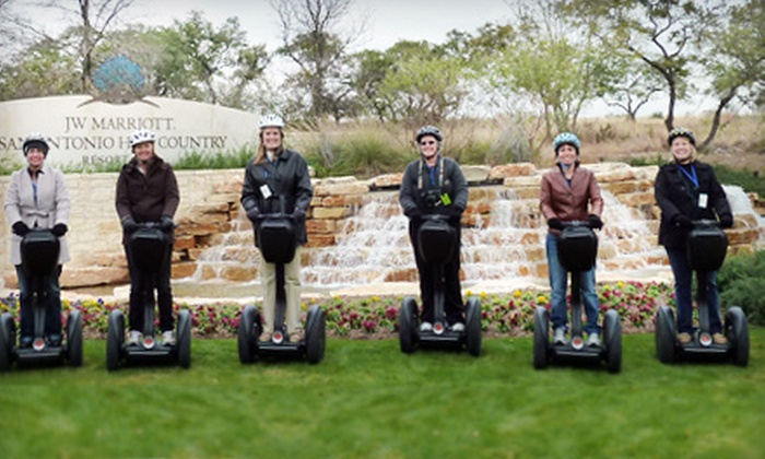 Segway Inc. - Judson: $37 for a 90-Minute Segway Tour from Segway Inc. ($75 Value)