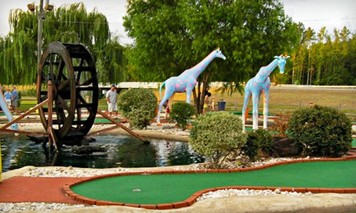 Cabot Miniature Golf - Cabot: $10 for Day of Unlimited Mini Golf for Four at Cabot Miniature Golf (Up to $20 Value)