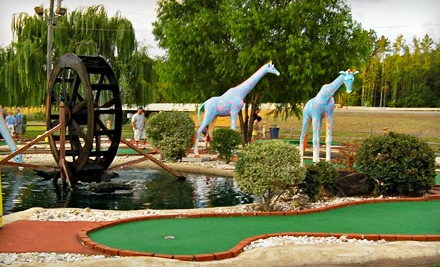 Cabot Miniature Golf - Cabot Miniature Golf in Cabot