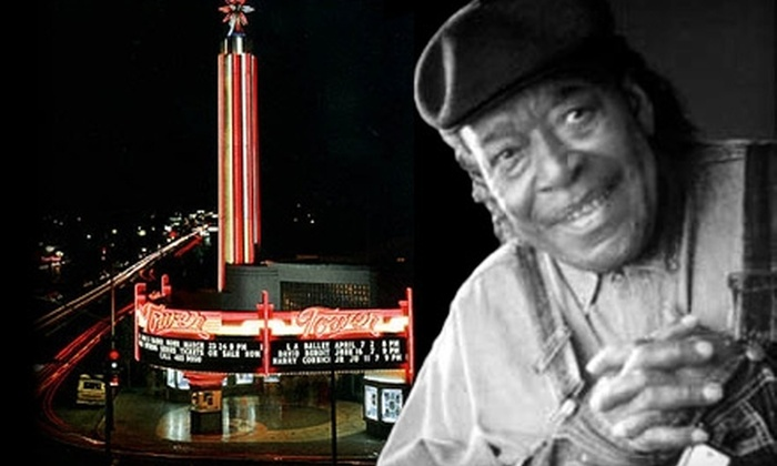 The Tower Theatre - Tower District: $19 for One Reserve Ticket ($39 Value) or $14 for One General-Admission Ticket ($29 Value) to James Cotton at the Tower Theatre on October 15 at 8 p.m.