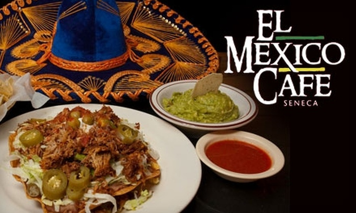 El Mexico Cafe - Southwest Wichita: $7 for $15 Worth of Authentic Mexican Cuisine at El Mexico Cafe