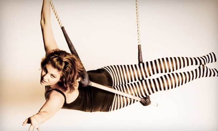 Aerial Arts of Utah - Sugar House: Two Aerial-and-Trapeze Classes or Three Gentle Aerial Classes at Aerial Arts of Utah