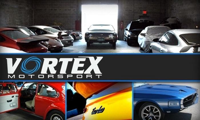 Vortex Motorsport - Northwest Tampa: $20 for a Standard Professional Detailing Service From Vortex Motorsport ($40 Value)