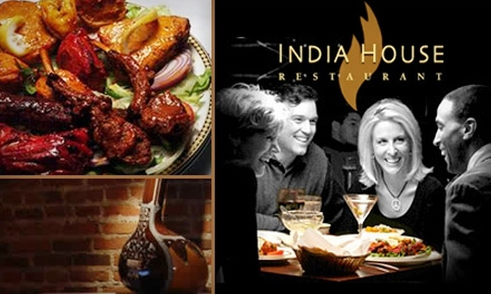 India House - LoDo: $15 for $30 Worth of Authentic Indian Cuisine and Drinks at India House Restaurant
