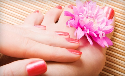 Waterless Pedicure and Manicure (a $45 value) - Leaondra Fashion in Eastover