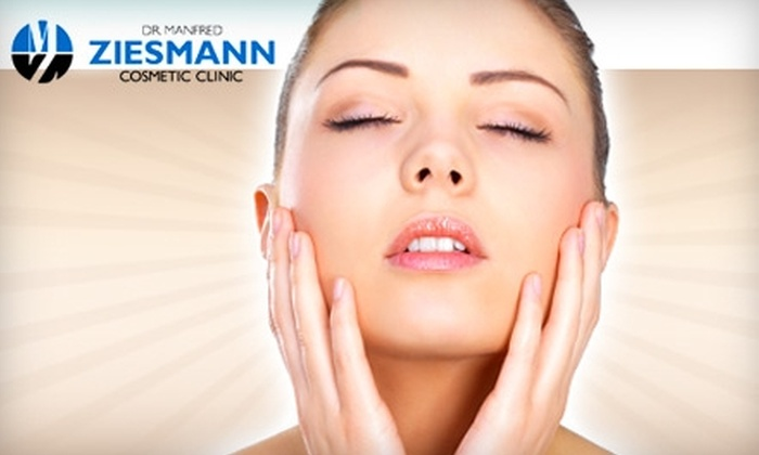 Ziesmann Cosmetic Clinic - Downtown Winnipeg: $49 for a Microdermabrasion Facial at Ziesmann Cosmetic Clinic ($125 Value)