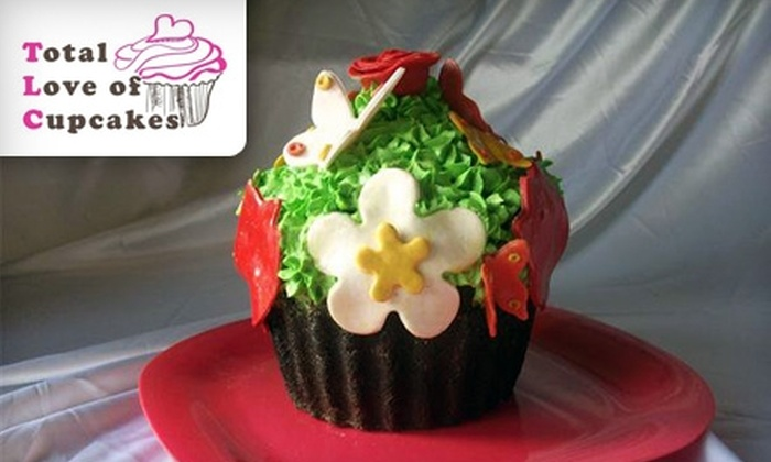 Total Love of Cupcakes - Kingston / Belleville: $13 for a Dozen Cupcakes of Any Flavour from Total Love of Cupcakes