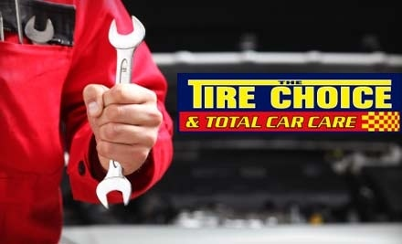 The Tire Choice & Total Car Care: Oil Change with Filter, 4-Tire Rotation & 17-Point Inspection ($19.99 Value) - The Tire Choice & Total Car Care in South Tampa