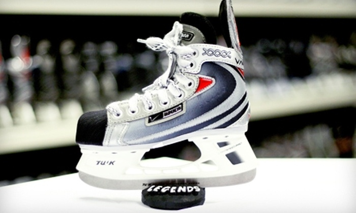 Legends New & Used Sporting Goods - Pinecrest: $59 for an Ultimate Hockey Package at Legends New & Used Sporting Goods in Oshawa ($187.35 Value)