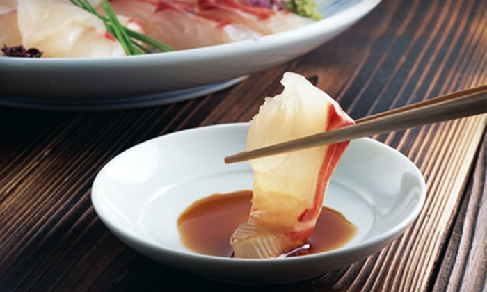 Ebisu Japanese Restaurant - Glenwood Townhomes: $17 for $35 Worth of Japanese Cuisine at Ebisu Japanese Restaurant in Palm Beach Gardens